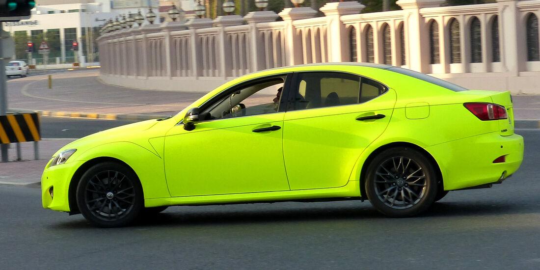 Lexus IS 250 - Carspotting Bahrain 2014