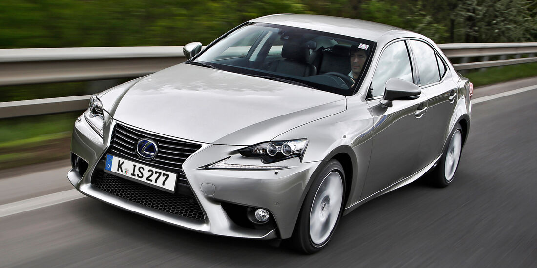 Lexus IS 250, Frontansicht