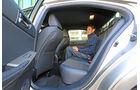 Lexus IS 300h, Rücksitz, Beinfreiheit