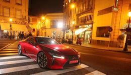 Lexus LC 500h, Frontansicht