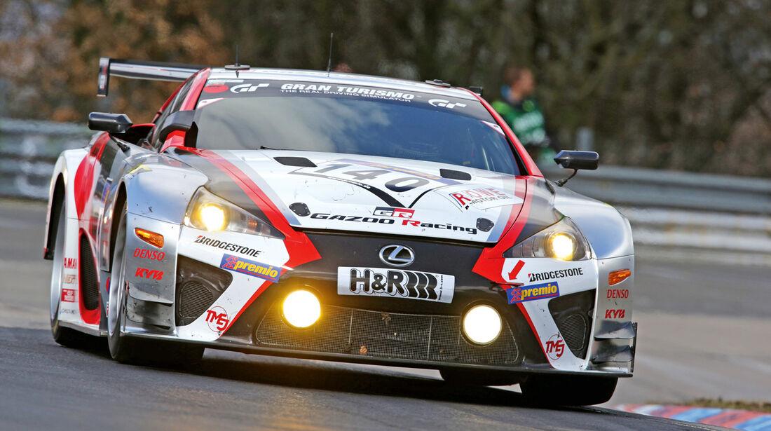 Lexus LF-A, Frontansicht
