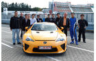 Lexus LFA mit Nürburgring Package, Team