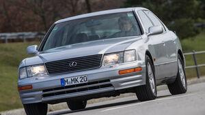 Lexus LS 400, XF10/XF20, Frontansicht