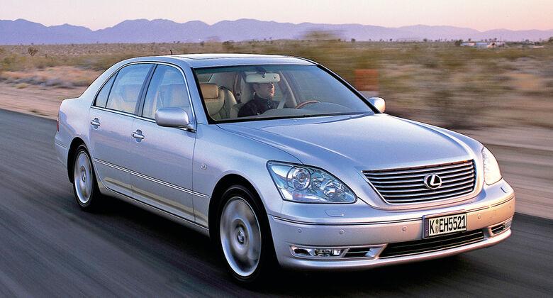 Lexus LS 430, Frontansicht