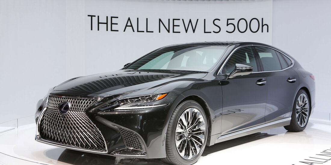 Lexus LS 600h Genfer Auto Salon 2017