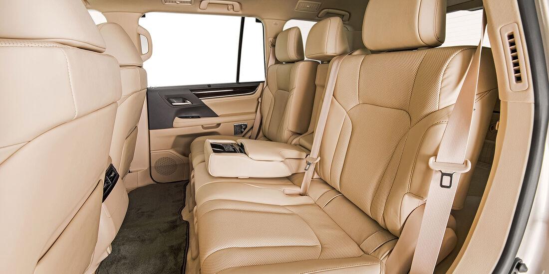 Lexus LX 570 Two Row