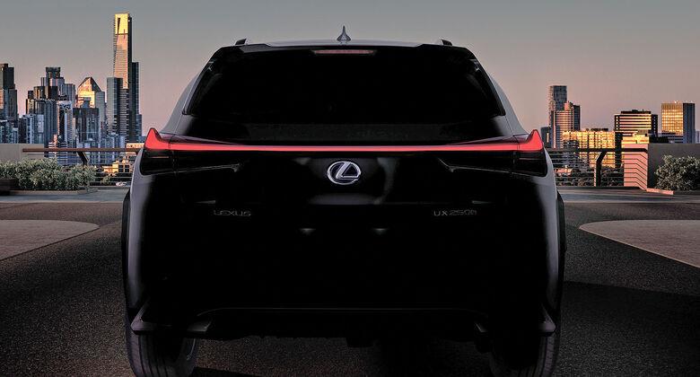 Lexus UX Teaser