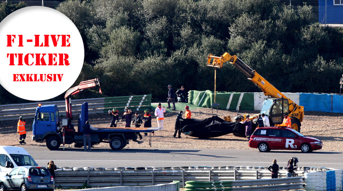 Live-Ticker 2013 F1 Jerez Test
