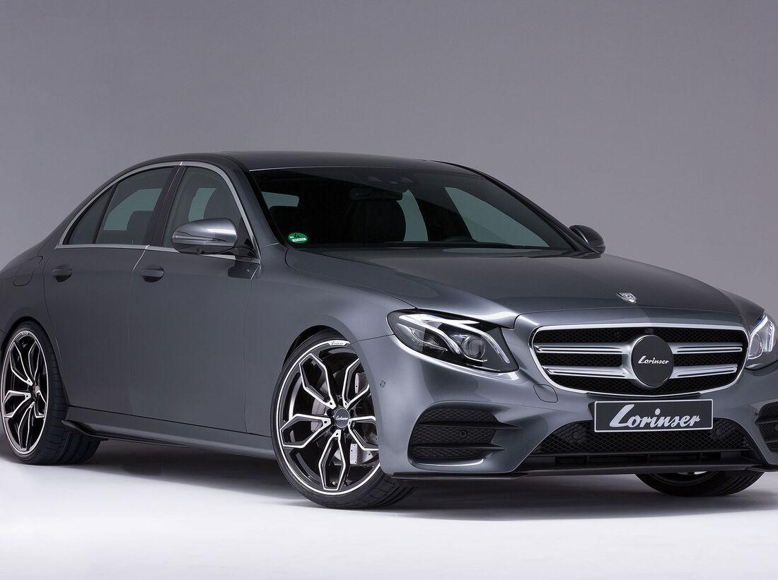 Lorinser Mercedes E-Klasse: Carbon und Leistung - auto ...