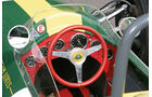 Lotus 25, Cockpit, Lenkrad