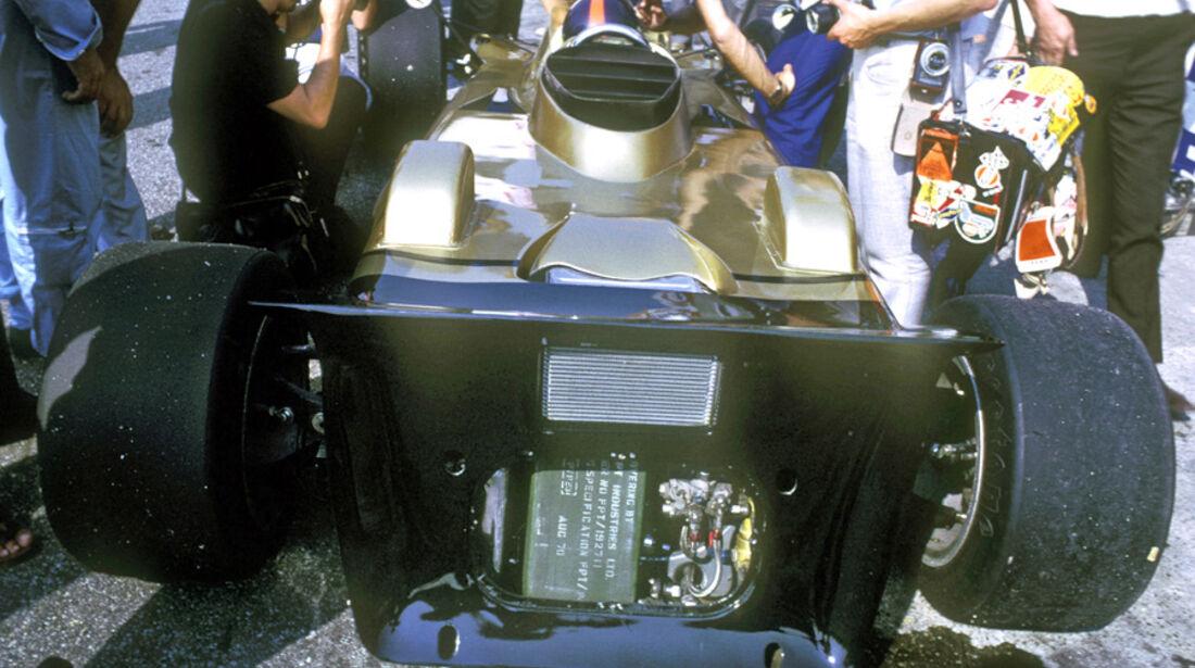 Lotus 56B - Turbine - Verrückte Formel 1-Ideen