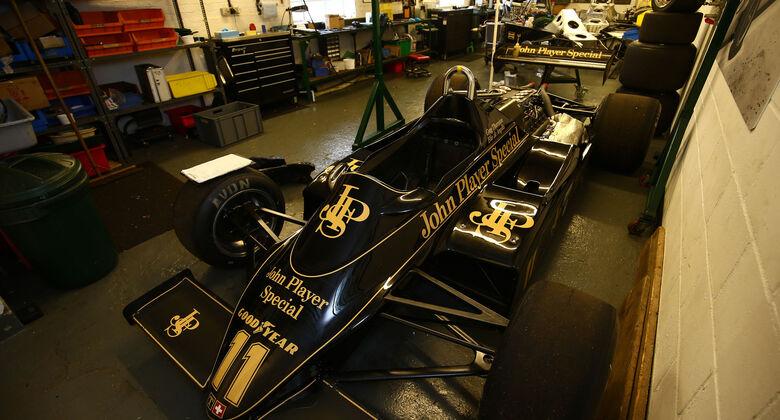 Lotus 91 - Classic Team Lotus - Lotus Workshop - Werkstatt - Hethel - England
