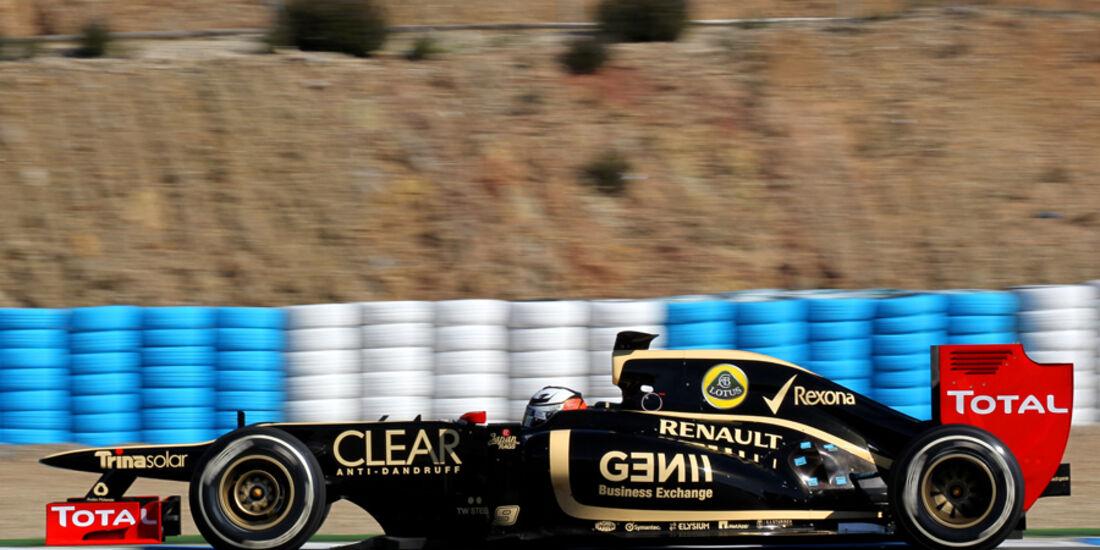 Lotus E20 Formel 1 Jerez 2012