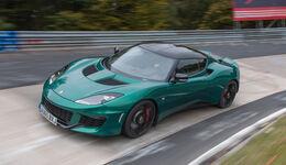 Lotus Evora 400, Seitenansicht