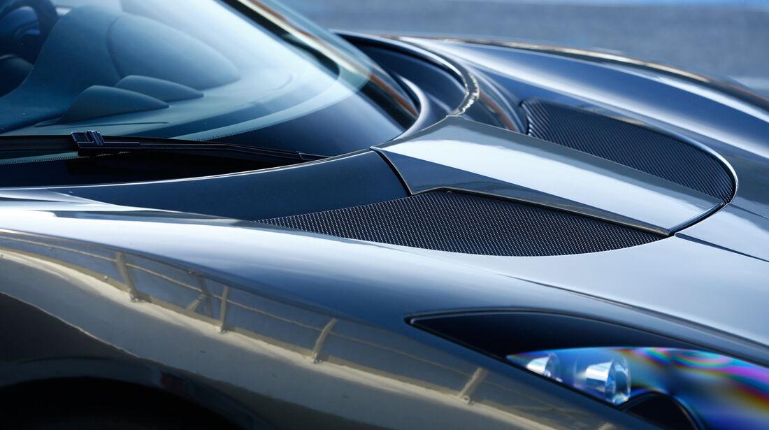 Lotus Evora S Sports Racer, Motorhaube