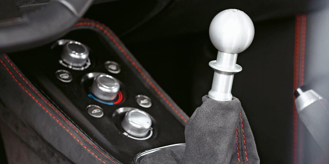 Lotus Evora S Sports Racer, Schalthebel