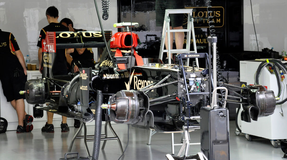 Lotus - Formel 1 - GP Brasilien - 22. November 2013