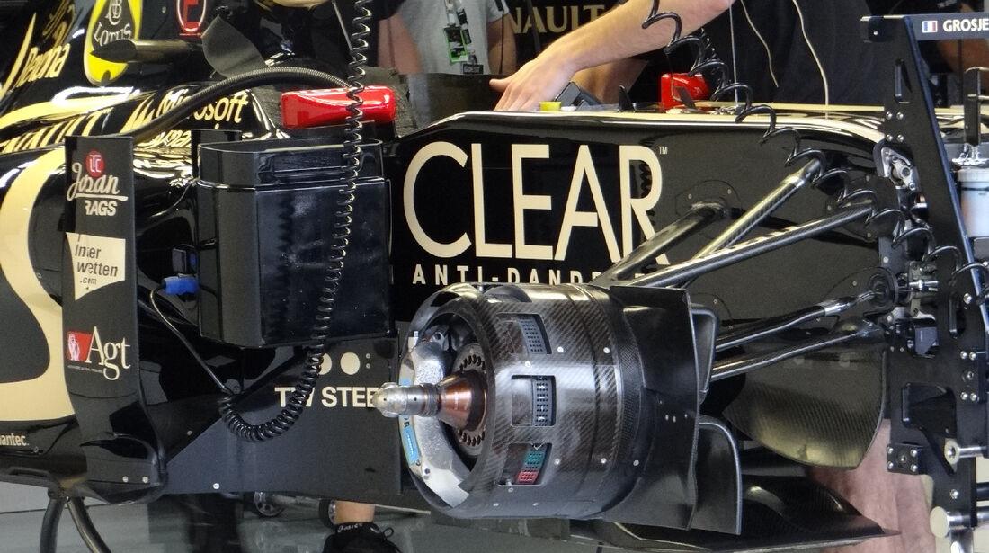 Lotus - Formel 1 - GP Deutschland - 20. Juli 2012