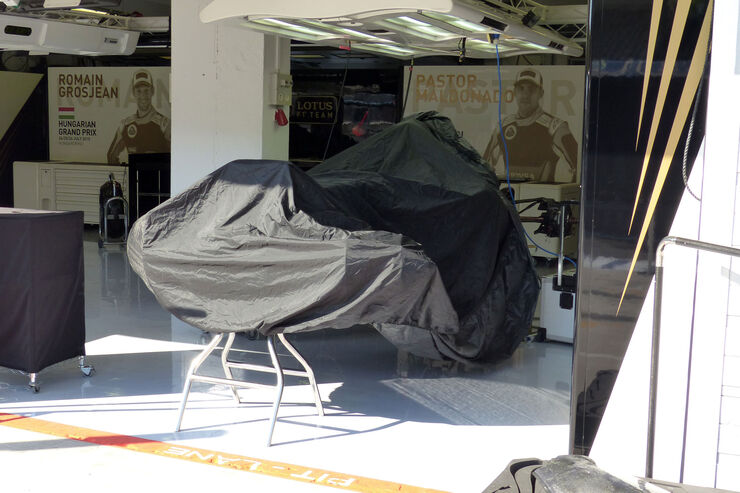 Lotus - GP Ungarn - Budapest - Mittwoch - 22.7.2015