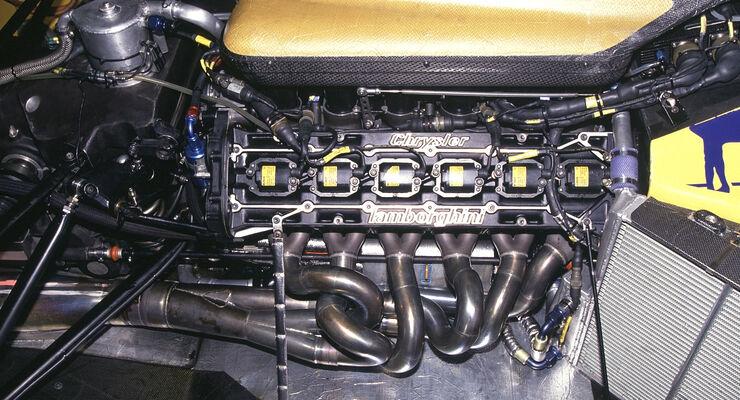 Lotus-Lamborghini 102 - Motor - V12 - Formel 1 1990