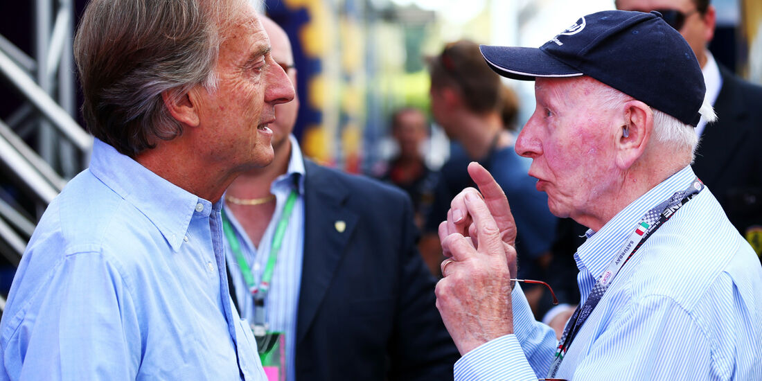 Luca di Montezemolo & John Surtees - Formel 1 - GP Italien - 7. September 2013