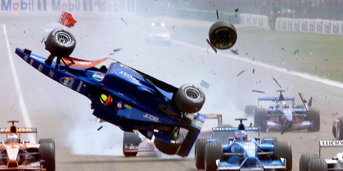 Luciano Burti - GP Deutschland 2001