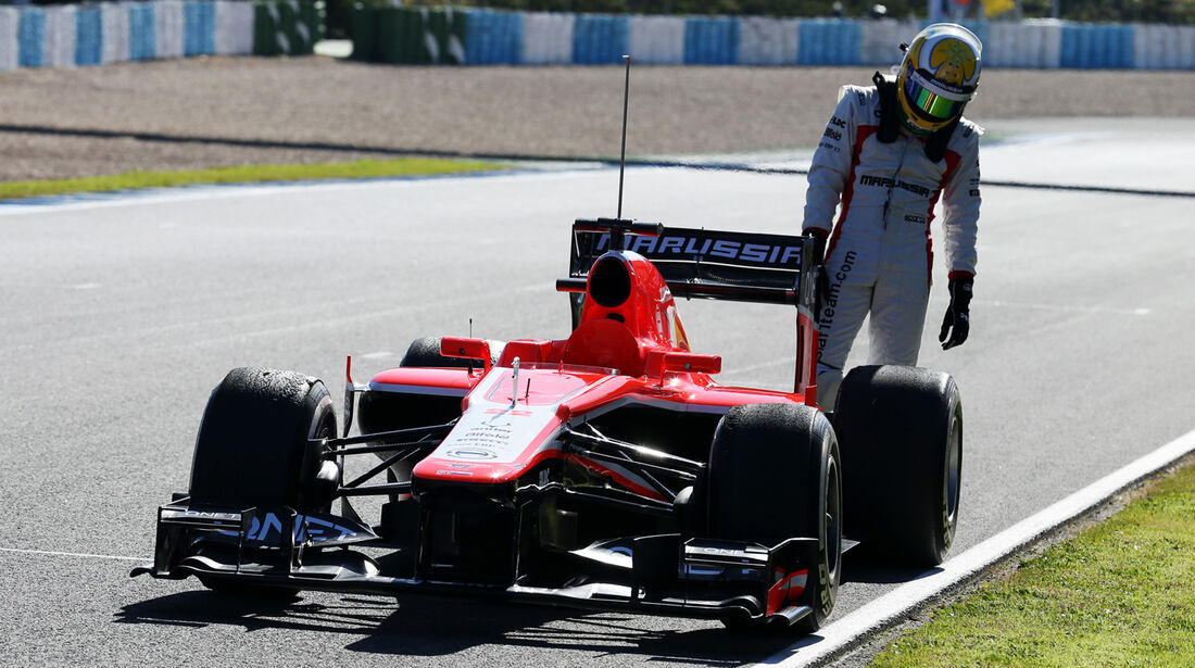 Luiz Razia Marussia F1 Test Jerez 2013 Highlights