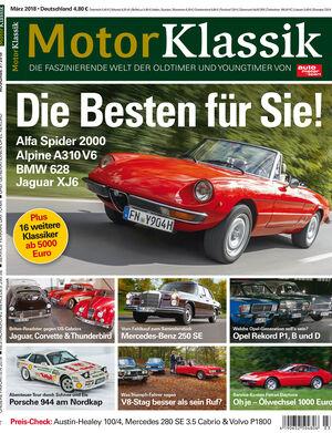 MKL Motor Klassik Heft 03/2018 Cover
