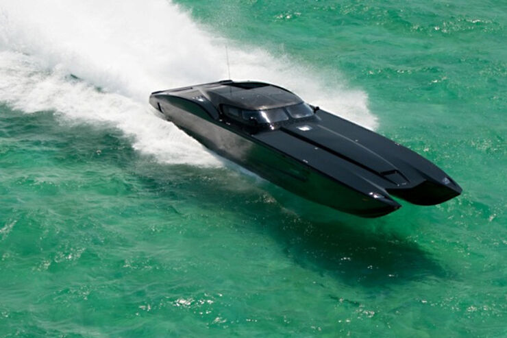 MTI Corvette Powerboat