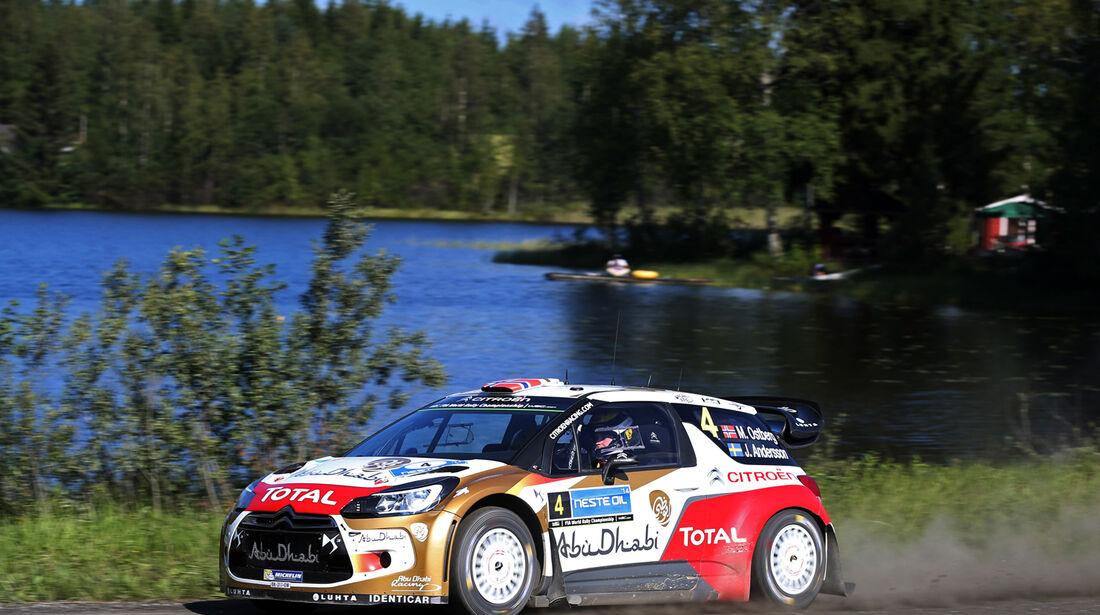 Mads Östberg - Rallye Finnland 2014 - Tag 3 - WRC - Citroen DS3 WRC