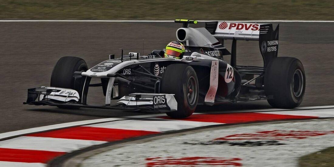 Maldonado Formel 1 GP China 2011