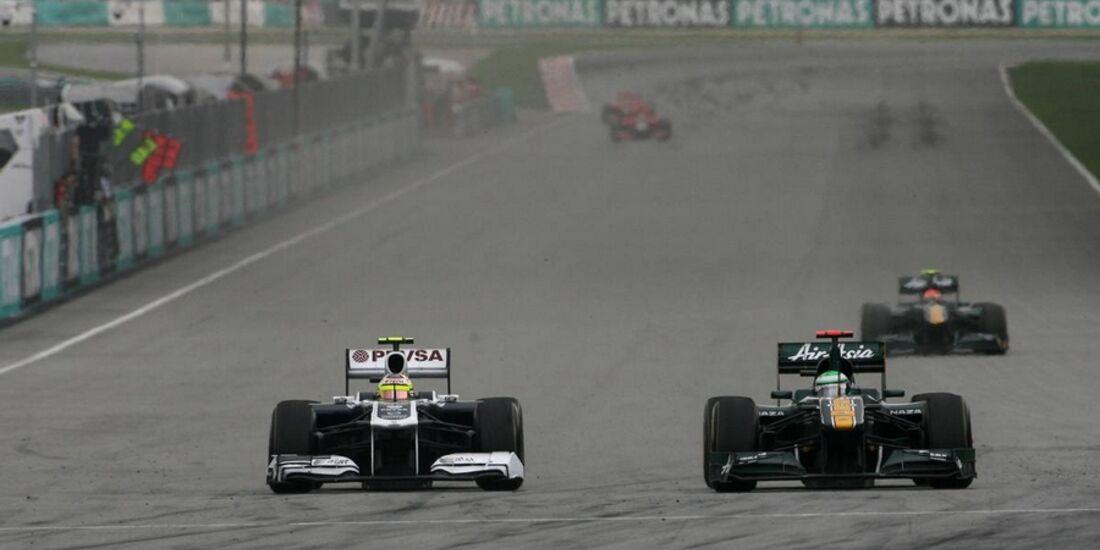 Maldonado GP Malaysia 2011 Formel 1