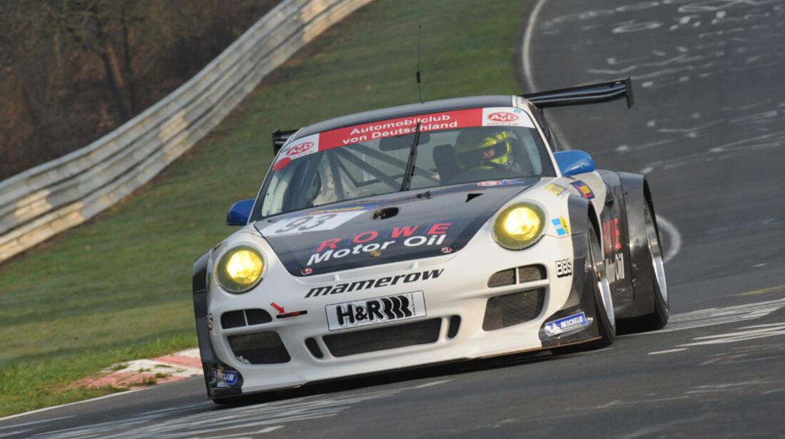 Mamerow Porsche GT3 Cup R schwarz weiß