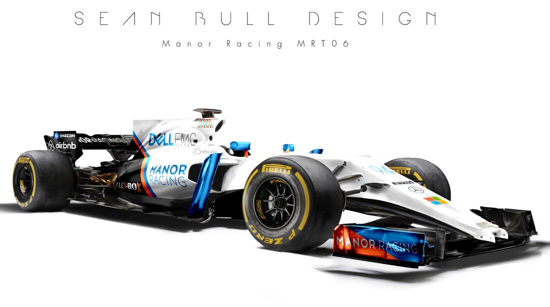Manor - F1-Designs 2017 - Sean Bull - Formel 1