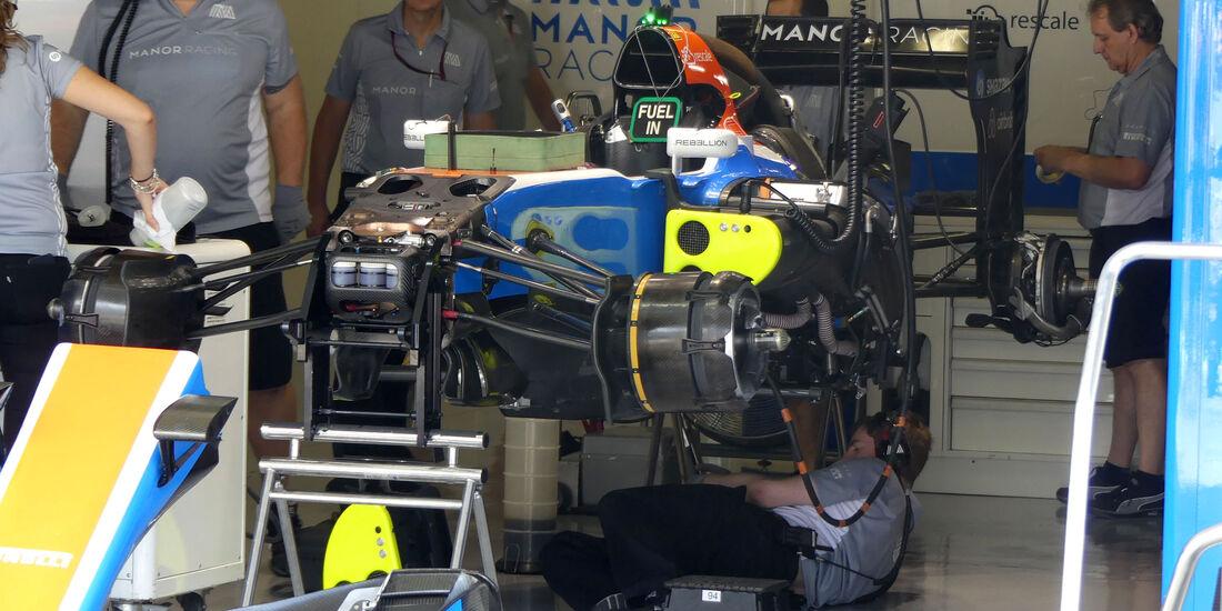 Manor - Formel 1 - GP Japan - Suzuka - Donnerstag - 6.10.2016