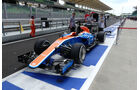 Manor - Formel 1 - GP Malaysia - Donnerstag - 29.9.2016