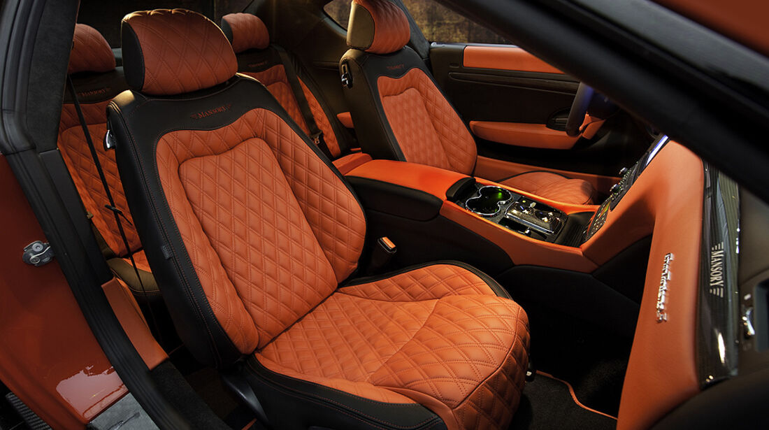 Mansory Maserati GranTurismo, Sitze