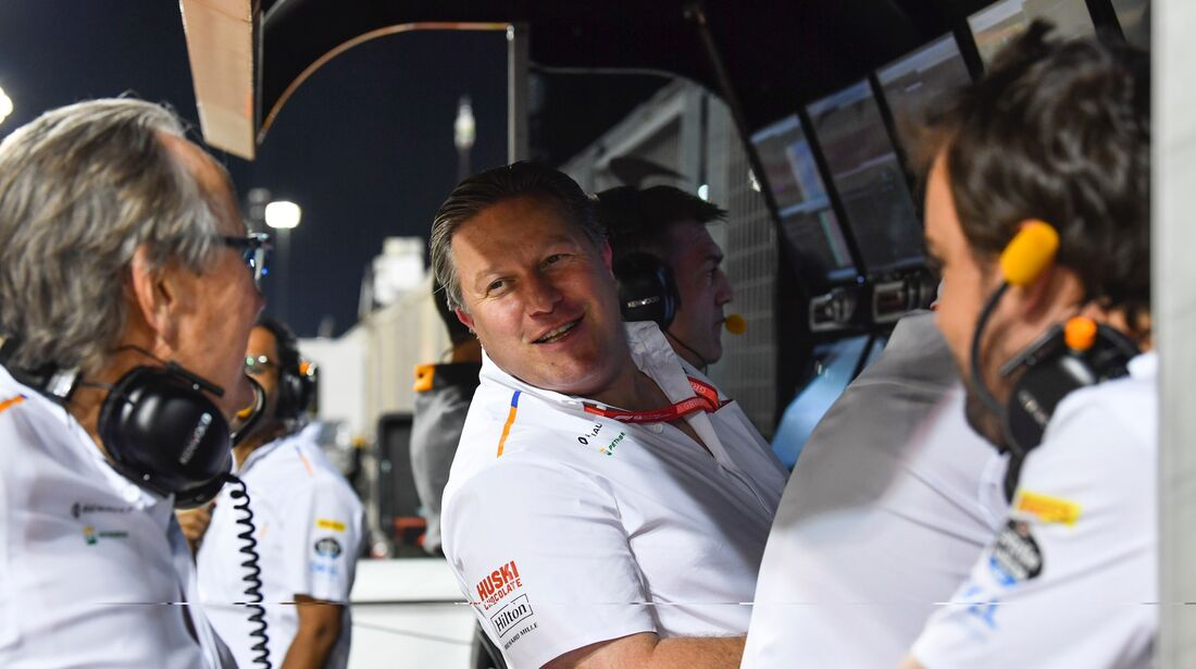 Mansour Ojjeh - Fernando Alonso - McLaren - Formel 1 - GP Bahrain - 30. März 2019