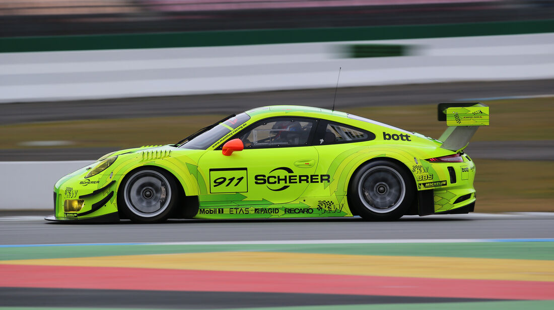 Manthey-Porsche 911 GT3 R, Seitenansicht