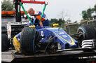 Marcu Ericsson - Sauber - Formel 1 - GP Ungarn - 23. Juli 2016