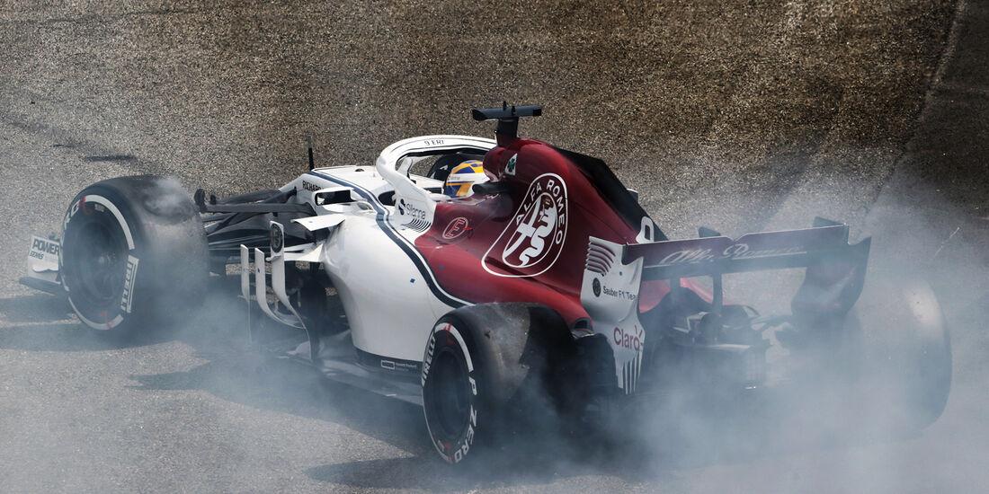 Marcus Ericsson - Formel 1 - GP Brasilien 2018
