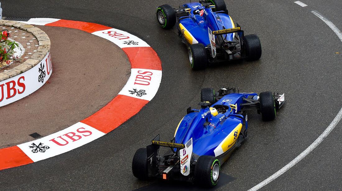 Marcus Ericsson - GP Monaco 2016