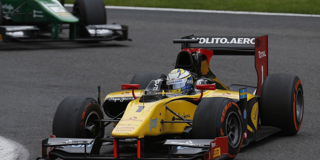 Marcus Ericsson, GP2, DAMS