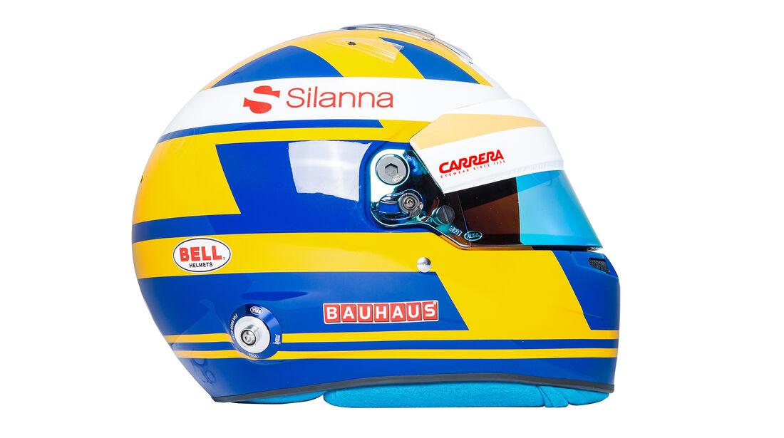 Marcus Ericsson - Helm - Sauber-Alfa Romeo - 2018