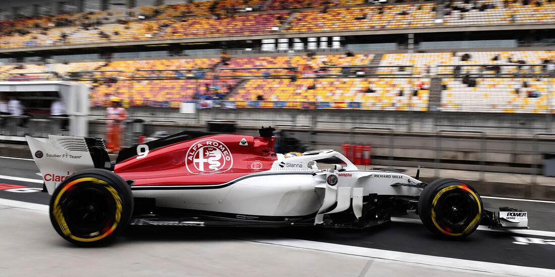 Marcus Ericsson - Sauber - Formel 1 - GP China - Shanghai - 14. April 2018