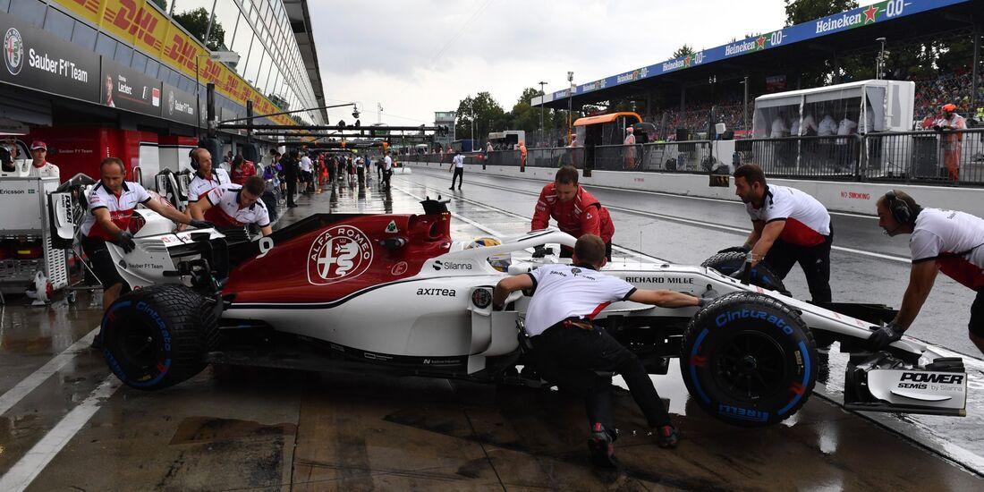 Marcus Ericsson - Sauber - Formel 1 - GP Italien - 31. August 2018
