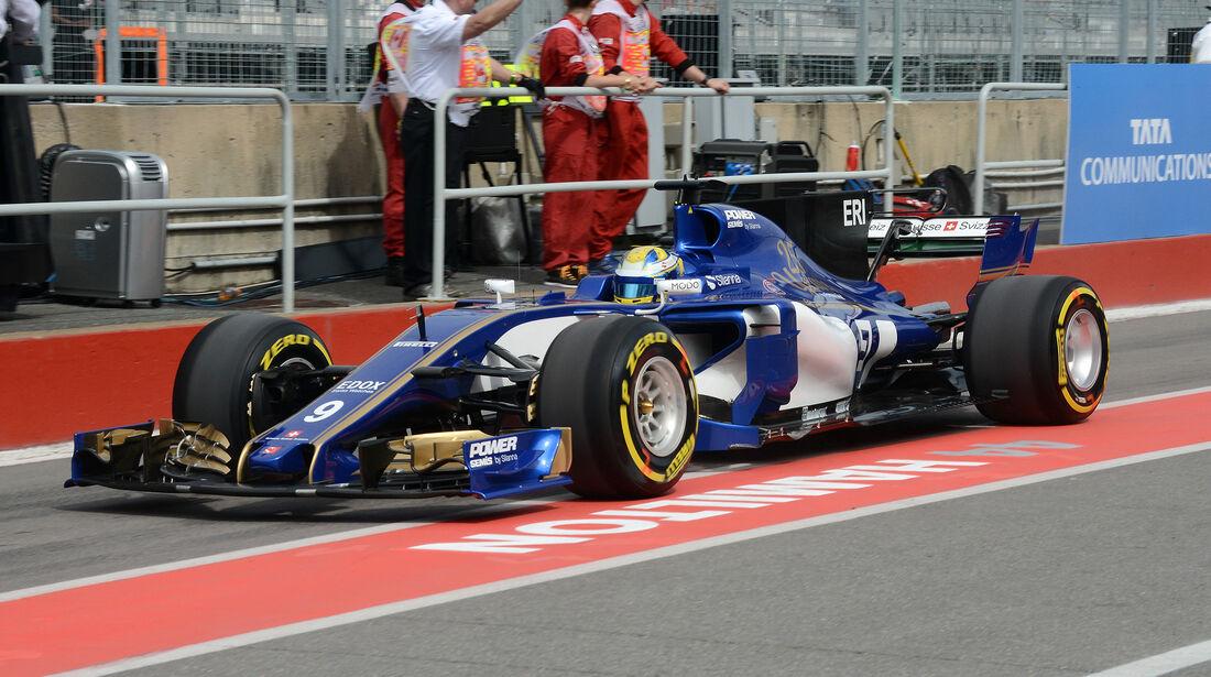 Marcus Ericsson - Sauber - Formel 1 - GP Kanada - Montreal - 9. Juni 2017