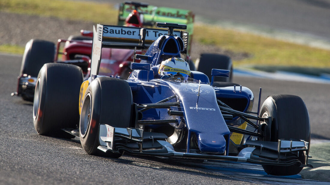 Marcus Ericsson - Sauber - Formel 1 - Jerez - 2015