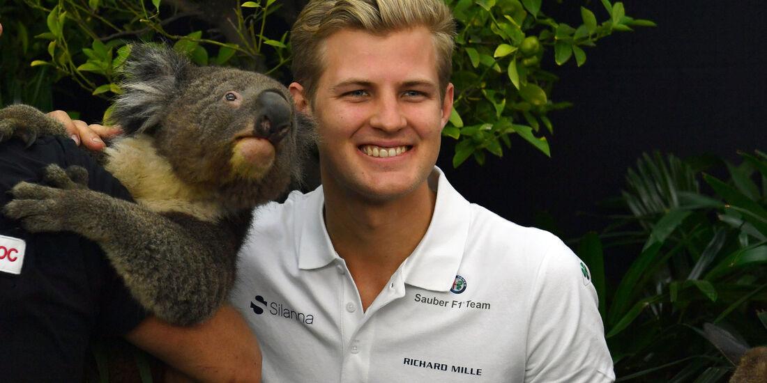 Marcus Ericsson - Sauber - GP Australien 2018 - Melbourne - Albert Park - Donnerstag - 22.3.2018