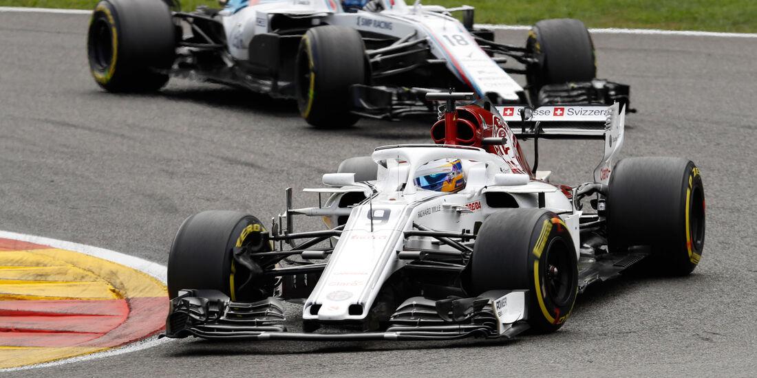 Marcus Ericsson - Sauber - GP Belgien 2018 - Spa